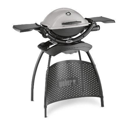 Gasgrills:                     Weber-Grill - Q 1200 Stand Granite Grey  Art.-Nr.51120379