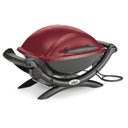 Elektrogrills:                     Weber-Grill - Q 1400 Maroon  Art.-Nr.52160079