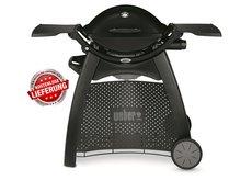 Angebote  Gasgrills: Weber-Grill - Q 2200 Gasgrill mit Rollwagen Black Art.-Nr. 54012579 (Empfehlung!)