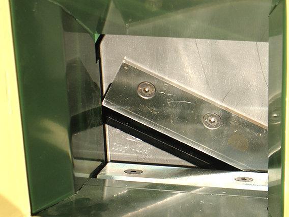 Negris professionelle Konstruktion und Schneidtechnik sorgt für aggressiven Materialeinzug und hohe Durchsatzleistung