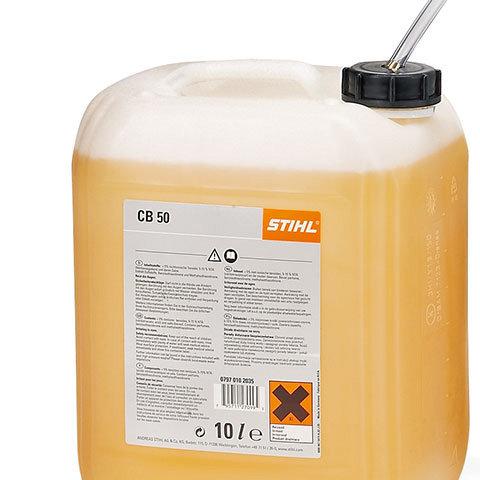 Externe Reinigungsmittelansaugung  Bei besonders hartnäckiger Verschmutzung können dem Sprühstrahl zusätzlich Reinigungsmittel aus einem externen Behälter beigemischt werden.