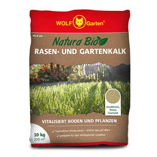 Rasendünger: Wolf-Garten - RG-K 200 NATURA BIO RASEN- UND GARTENKALK