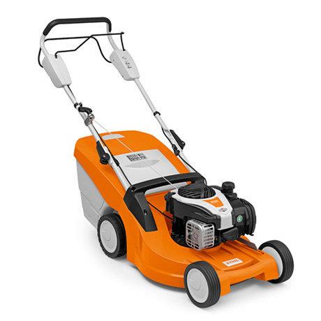 Angebote                                          Benzinrasenmäher:                     Stihl - RM 448 TX (Aktionsangebot!)