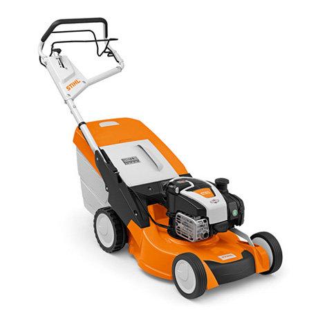 Angebote                                          Benzinrasenmäher:                     Stihl - RM 650 VE (Aktionsangebot!)