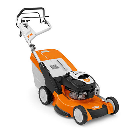 Benzinrasenmäher:                     Stihl - RM 655 VS