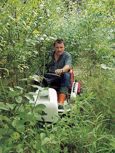 Das Kraftpaket für Unterholz und Hochgraswiesen