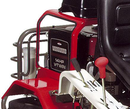 Der starke 2-Zylindermotor von Briggs&Stratton