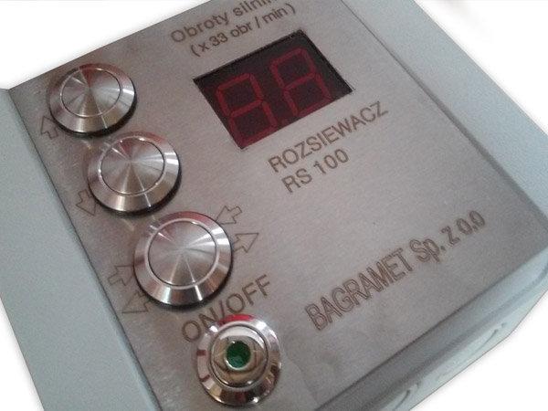 Elektrosteuerung - Hochwertiges Bedienpult - staub- und wasserdicht