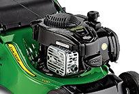 READYSTART® Der READYSTART®-Motor kann dank eines automatischen Choke-Systems einfach mit dem Zugstarter angelassen werden. Kein Vorpumpen, kein Choke, kein Problem!