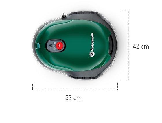 Kompakt  Unser bisher kleinster Mähroboter!