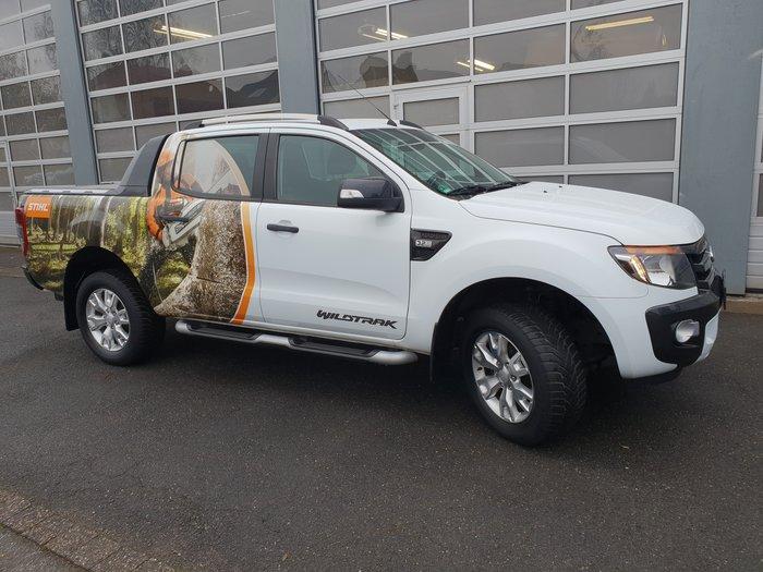 """Gebrauchte                                          Transport Fahrzeuge :                     Ford - Ranger Wildtrak """"Stihl Edition"""" (gebraucht)"""