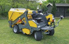 Kehrmaschinen: AGRITEC - Rasen und Laubkehrmaschine - Gemo 130