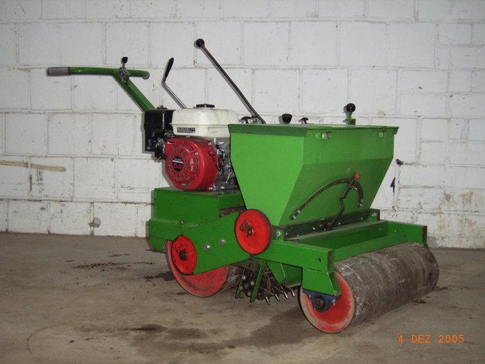 Mieten                                          Gartenbaumaschinen:                     Sembdner - Rasenbaumaschine RS 60 (mieten)