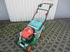 Gebrauchte  Benzinrasenmäher: Sabo - Rasenmäher Benzin 43 cm Sabo mit Fangkorb (gebraucht)