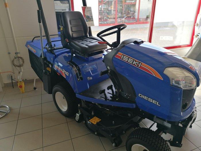 Gebrauchte                                          Gartentraktoren:                     Iseki - Rasentrac SXG 216 (gebraucht)
