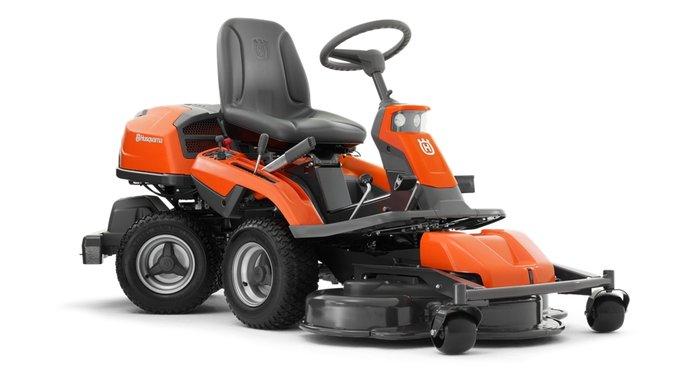 Frontmäher:                     Husqvarna - Rider - R 316TXs AWD (ohne Mähdeck)
