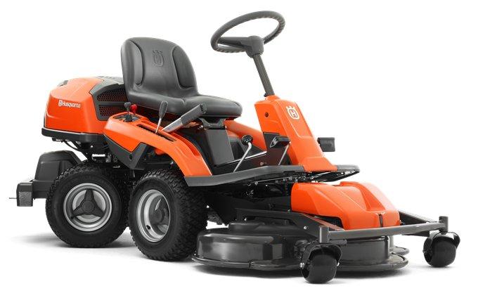 Angebote                                          Frontmäher:                     Husqvarna - Rider - R 320 AWD  (Schnäppchen!)