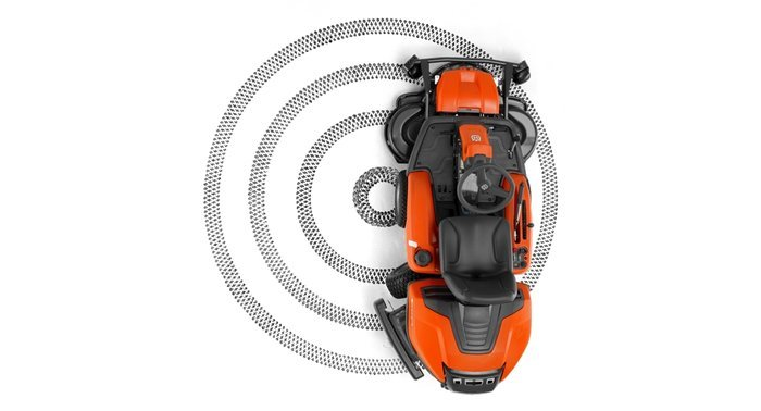 Frontmäher:                     Husqvarna - Rider - R 320 AWD (inkl. 94 cm Mähdeck)