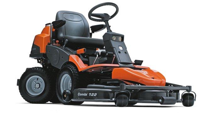 Frontmäher:                     Husqvarna - Rider - R 422Ts AWD (ohne Mähdeck)