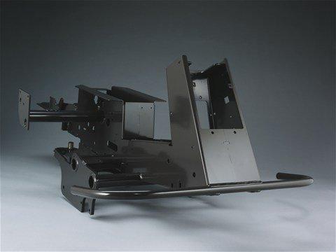 Die meisten Rider sind auf einem robusten, pulverlackierten Rahmen aus 3 mm dickem Stahlblech aufgebaut.