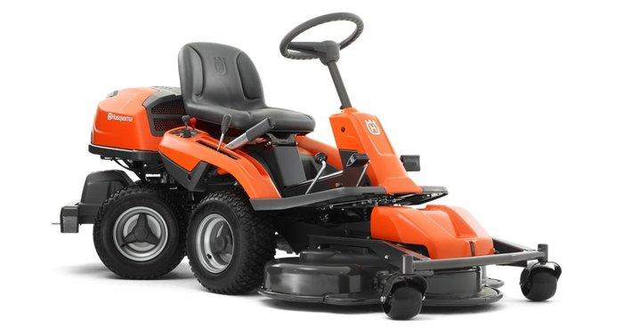 Gebrauchte                                          Gartentraktoren:                     Husqvarna - Rider 320 AWD Allrad Aufsitzmäher (gebraucht)