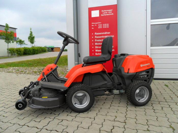 Gebrauchte                                          Gartentraktoren:                     Husqvarna - Rider R112C  (gebraucht)