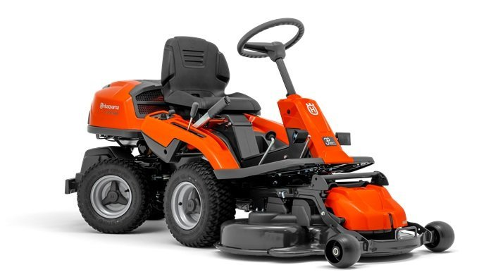 Gebrauchte                                          Frontmäher:                     Husqvarna - Rider R 214 T AWD (gebraucht)