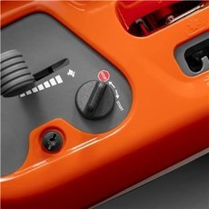 Turn Key Start Einfach zu bedienen bei jedem Wetter. Kein Choke nötig, einfach den Schlüssel drehen und los.