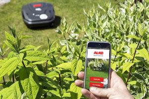 Smart Garden   Mit AL-KO inTOUCH und innogy SmartHome können alle Robolinho® Mähroboter via Smartphone oder Tablet gesteuert werden. Robolinho® mit einem I im Namen (z.B. Robolinho® 4100 I) haben die benötigte Hardware bereits installiert, alle anderen Robolinho® Mähroboter können über den stationären Fachhandel nachgerüstet werden.