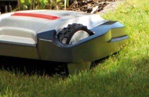 Griffiges Profil   Immer auf der richtigen Spur: Gummierte Räder sorgen für eine starke Traktion und gute Bodenhaftung - selbst bei Steigungen bis zu 35%.