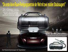Sauger: ECOVACS - Robot-Staubsauge Deebot D 76 mit automatischer Staubabsaugung