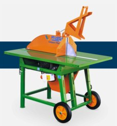 Wippkreissägen: Posch - Rolltisch-Säge mit Keilriemenantrieb RKE 7,5