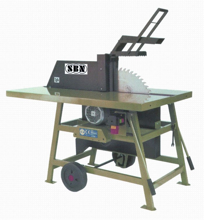 Wippkreissägen:                     SBN - Rolltischkreissäge RKSW 700