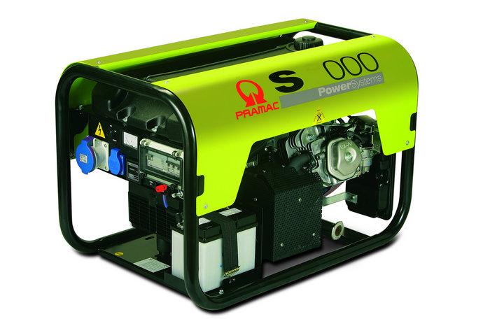 Stromerzeuger:                     Pramac - S5000 PD412SHB