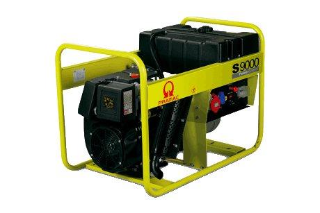 Stromerzeuger:                     Pramac - S9000 PD882TRA (230V/400V)