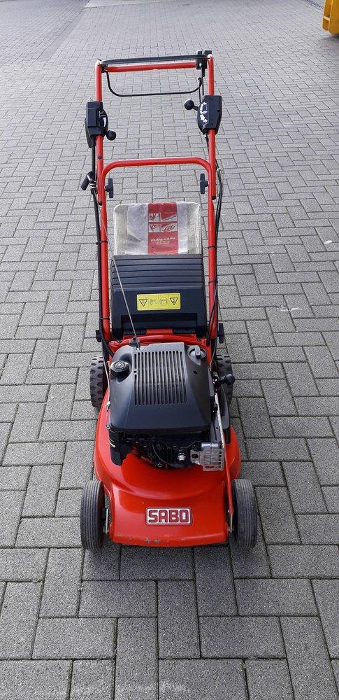 Gebrauchte                                          Benzinrasenmäher:                     Sabo - SABO Rasenmäher TurboStar 43-4 EA (gebraucht)