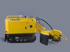 Stubbenfräsen: HERDER - SCT-410H Stubbenfräse Raupenfahrgestell