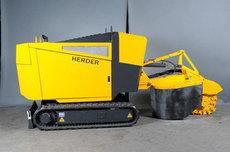 Stubbenfräsen: HERDER - SCT-550H-70 Stubbenfräse Raupenfahrgestell