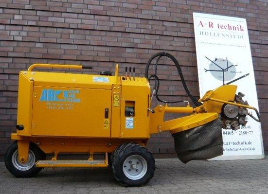 Gebrauchte                                          Stubbenfräsen:                     HERDER - SCW-410H Stubbenfräse Fahrgestell (gebraucht)