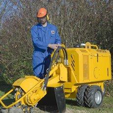 Mieten  Stubbenfräsen: Herder / Fermex - SCW-410H Stubbenfräse Fahrgestell - Mietgerät  (mieten)