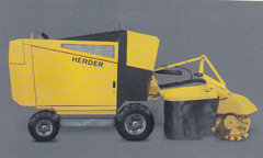 Stubbenfräsen:                     HERDER - SCW-630H-105 Stubbenfräse Fahrgestell