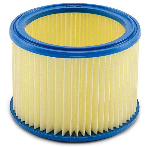 Mehrfachfiltersystem  Durch die Kombination von Filtersack und Hauptfilter ergibt sich ein noch höherer Abscheidegrad.