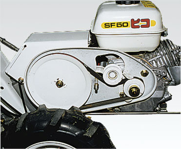 Getriebeuntersetzungzur optimalen Kraftübertragung