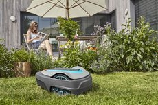 Mähroboter: 								Gardena - smart SILENO city Set