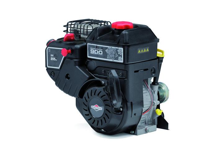 Briggs & Stratton-Motoren sind speziell für den Betrieb bei niedrigen Temperaturen konzipiert. Alle verwendeten Modelle von Briggs & Stratton sind mit einer Kraftstoffeinspritzung für schnelles Starten und einem großen Schalldämpfer für leisen Betrieb ausgestattet.