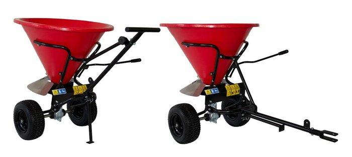 Gebrauchte                                          Gartentraktoren:                     Echo - SP-170 Schleuderstreuer (gebraucht)