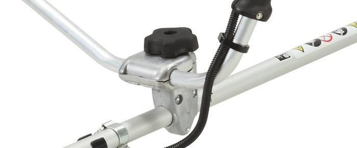 ergonomische Balance -  Kräfteschonendes Arbeiten wird bei den ECHO-Motorsensen durch die ergonomische Anbringung der Mählenker und die sehr effektive Vibrationsdämpfung erreicht.