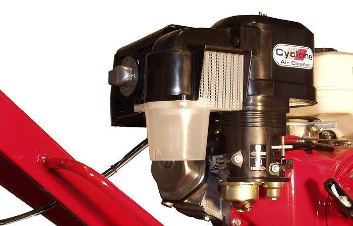 Cyclon-Luftfilter -  Der Cyclon-Luftfilter sorgt dafür, dass nur perfekt gereinigte Luft in den Motor gelangt. Dies gewährleistet eine lange Lebensdauer des Motors.