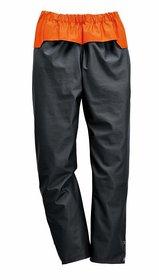 Schutzhosen: Stihl - STIHL ADVANCE-Wetterschutz-Bundhose, Anthrazit/Orange - Zuverlässig bei schlechter Witterung