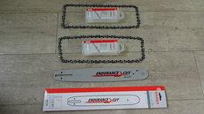 """Angebote  Motorsägen: Sägeketten + Schienen - STIHL AKTION 1 Schiene 35 cm + 2 Ketten p.f. STIHL 3/8"""" x 1,1 x 50E ( Picco Mini ) (Aktionsangebot!)"""